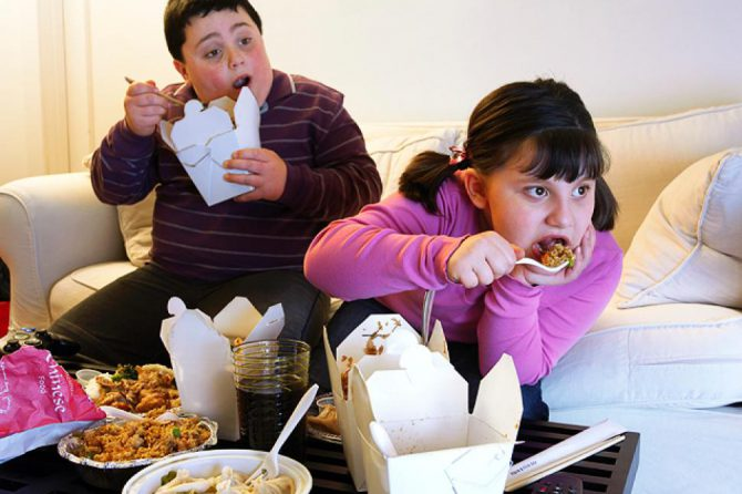 Fast food choices influence kids soda and calorie consumption